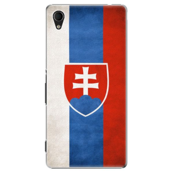 iSaprio Plastový kryt - Slovakia Flag pro Sony Xperia M4 Aqua