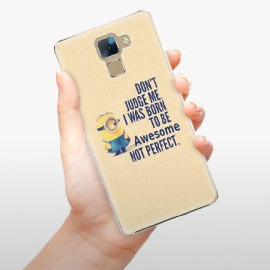 iSaprio Plastikowa obudowa - Be Awesome na Honor 7