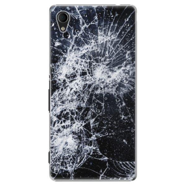 iSaprio Plastový kryt - Cracked pro Sony Xperia M4 Aqua