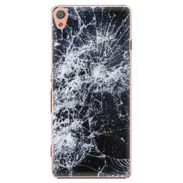 iSaprio Plastový kryt - Cracked pro Sony Xperia XA