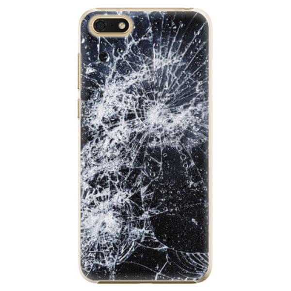 iSaprio Plastový kryt - Cracked pro Honor 7S