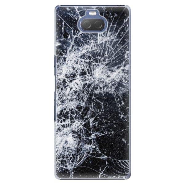 iSaprio Plastový kryt - Cracked pro Sony Xperia 10