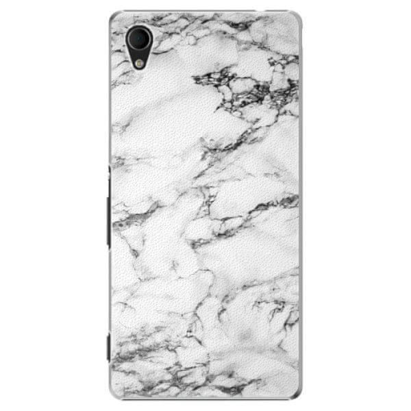 iSaprio Plastový kryt - White Marble 01 pro Sony Xperia M4 Aqua
