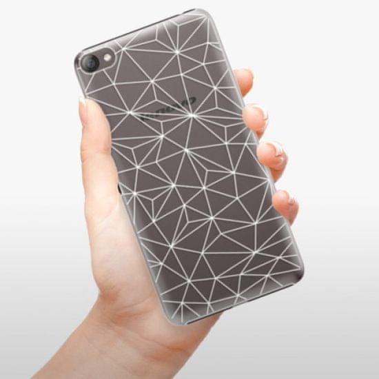iSaprio Plastikowa obudowa - Abstract Triangles 03 - white na Lenovo S60