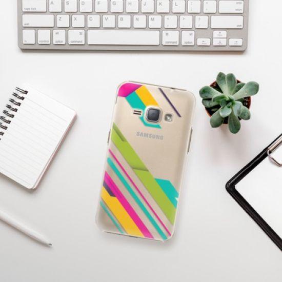 iSaprio Color Stripes 03 műanyag tok Samsung Galaxy J1 2016