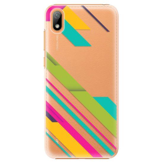 iSaprio Color Stripes 03 műanyag tok Huawei Y5 2019