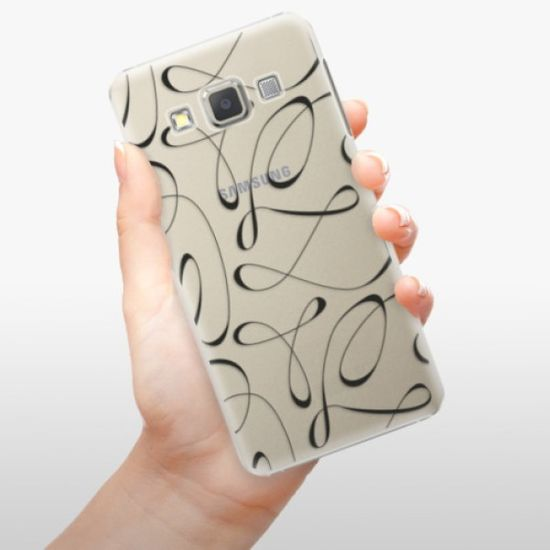 iSaprio Fancy - black műanyag tok Samsung Galaxy A5