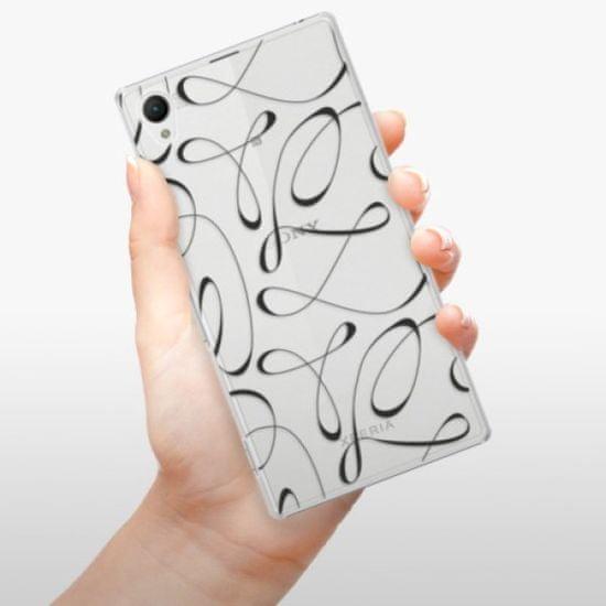 iSaprio Plastikowa obudowa - Fancy - black na Sony Xperia Z1
