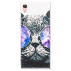 iSaprio Plastový kryt - Galaxy Cat pro Sony Xperia XA1