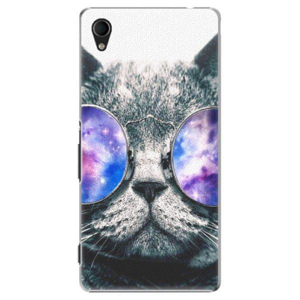 iSaprio Plastový kryt - Galaxy Cat pro Sony Xperia M4 Aqua