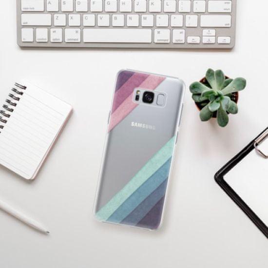 iSaprio Plastikowa obudowa - Glitter Stripes 01 na Samsung Galaxy S8 Plus