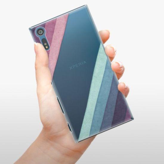 iSaprio Plastikowa obudowa - Glitter Stripes 01 na Sony Xperia XZ