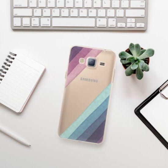 iSaprio Plastikowa obudowa - Glitter Stripes 01 na Samsung Galaxy J3