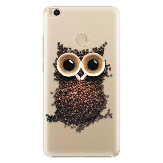 iSaprio Owl And Coffee műanyag tok Xiaomi Mi Max 2