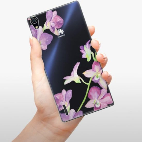 iSaprio Purple Orchid műanyag tok Huawei Ascend P7