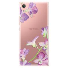 iSaprio Plastový kryt - Purple Orchid pro Sony Xperia XA1