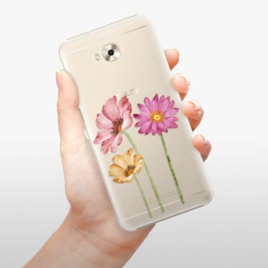 iSaprio Plastikowa obudowa - Three Flowers na Asus ZenFone 4 Selfie ZD553KL