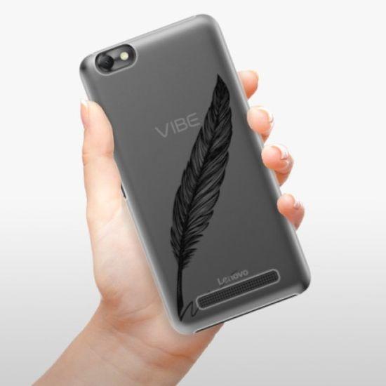 iSaprio Writing By Feather - black műanyag tok Lenovo Vibe C