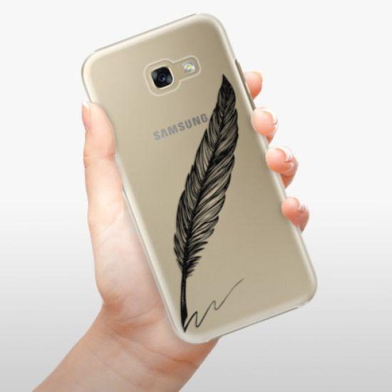 iSaprio Plastikowa obudowa - Writing By Feather - black na Samsung Galaxy A5 (2017)