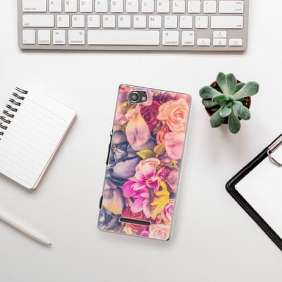 iSaprio Plastikowa obudowa - Beauty Flowers na Sony Xperia M