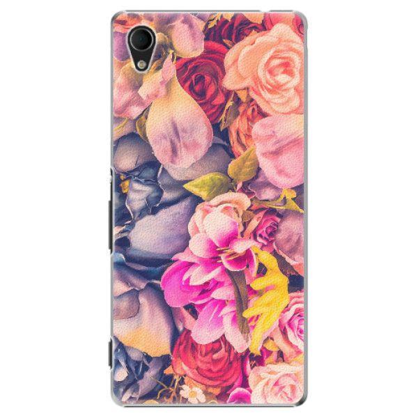 iSaprio Plastový kryt - Beauty Flowers pro Sony Xperia M4 Aqua
