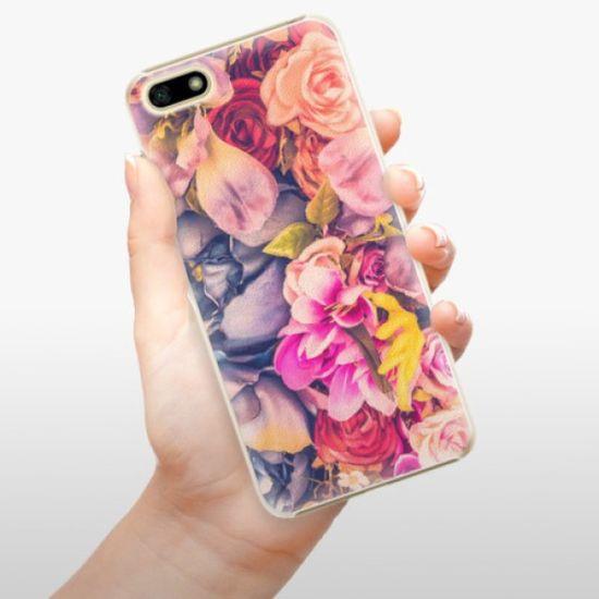 iSaprio Plastikowa obudowa - Beauty Flowers na Huawei Y5 2018