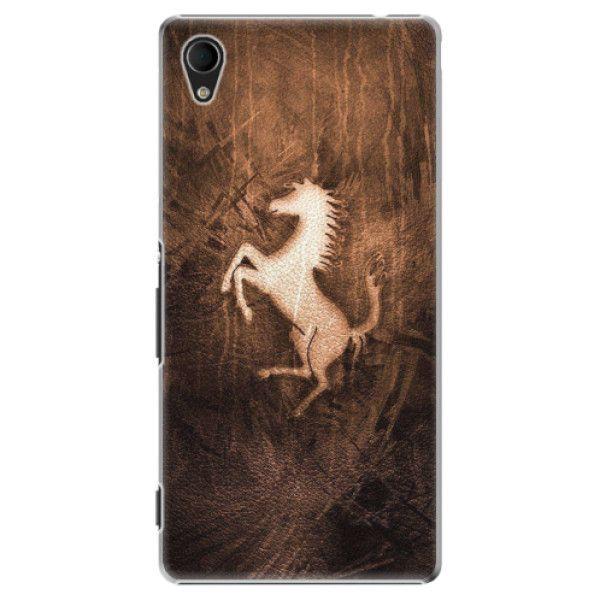 iSaprio Plastový kryt - Vintage Horse pro Sony Xperia M4 Aqua