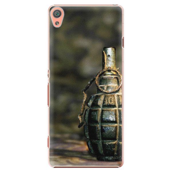 iSaprio Plastový kryt - Grenade pro Sony Xperia XA
