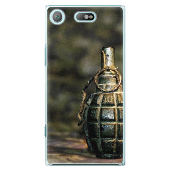 iSaprio Plastový kryt - Grenade pro Sony Xperia XZ1 Compact