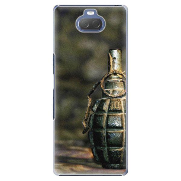 iSaprio Plastový kryt - Grenade pro Sony Xperia 10