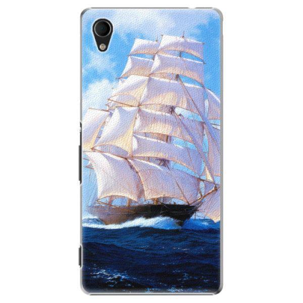 iSaprio Plastový kryt - Sailing Boat pro Sony Xperia M4 Aqua