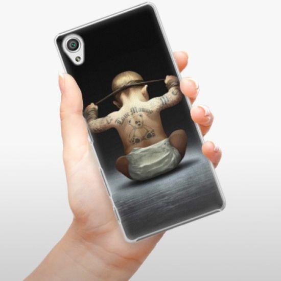 iSaprio Plastikowa obudowa - Crazy Baby na Sony Xperia X