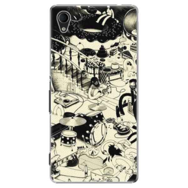 iSaprio Plastový kryt - Underground pro Sony Xperia M4 Aqua