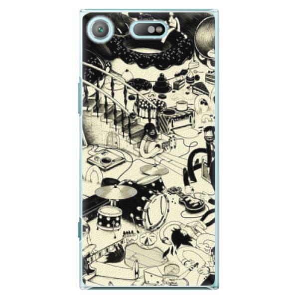 iSaprio Plastový kryt - Underground pro Sony Xperia XZ1 Compact