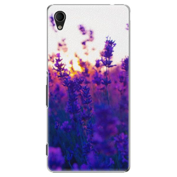 iSaprio Plastový kryt - Lavender Field pro Sony Xperia M4 Aqua