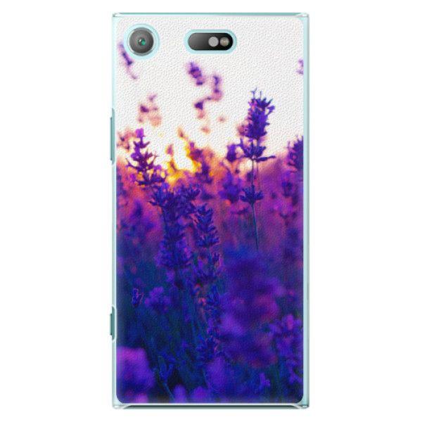 iSaprio Plastový kryt - Lavender Field pro Sony Xperia XZ1 Compact