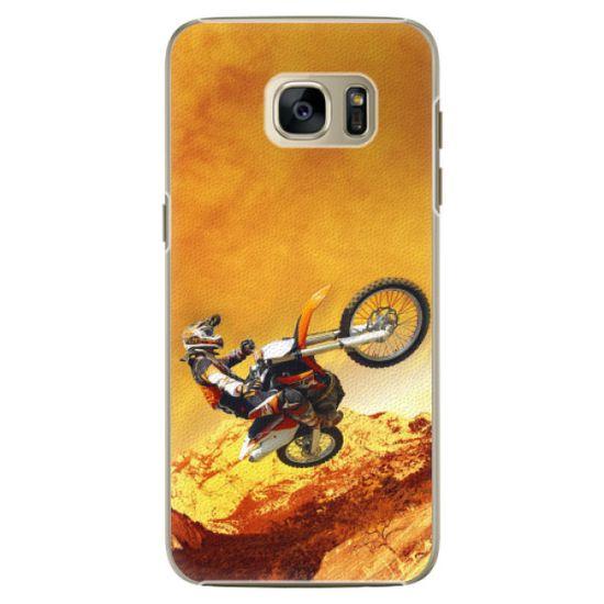 iSaprio Plastikowa obudowa - Motocross na Samsung Galaxy S7