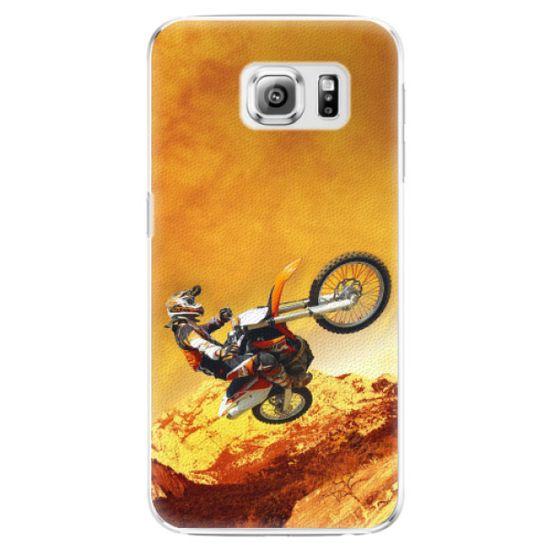iSaprio Plastikowa obudowa - Motocross na Samsung Galaxy S6 Edge Plus