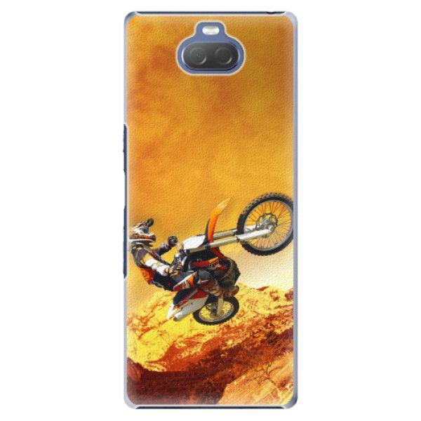 iSaprio Plastový kryt - Motocross pro Sony Xperia 10