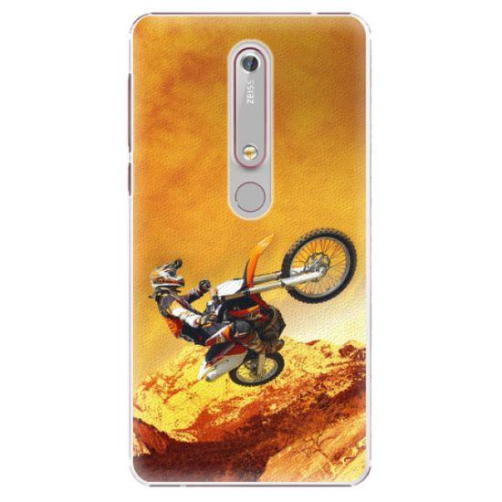 iSaprio Motocross műanyag tok Nokia 6.1