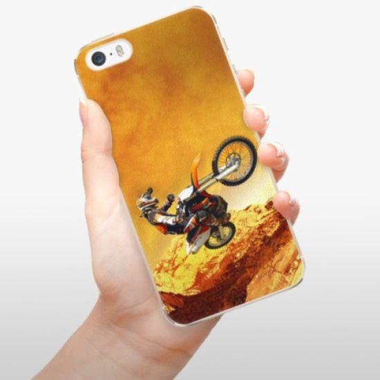 iSaprio Plastikowa obudowa - Motocross na Apple iPhone 5/5S/SE