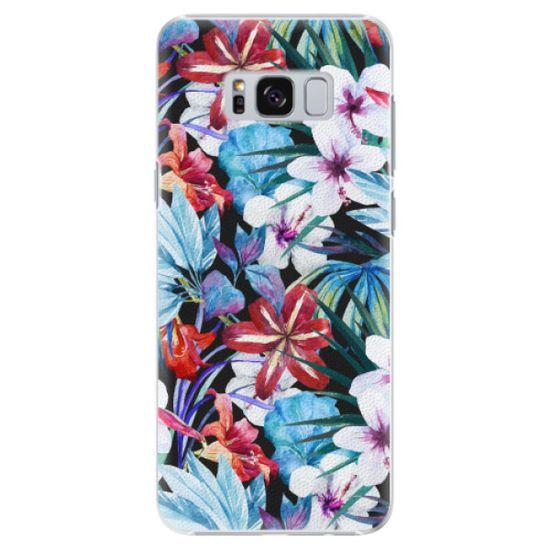 iSaprio Plastikowa obudowa - Tropical Flowers 05 na Samsung Galaxy S8