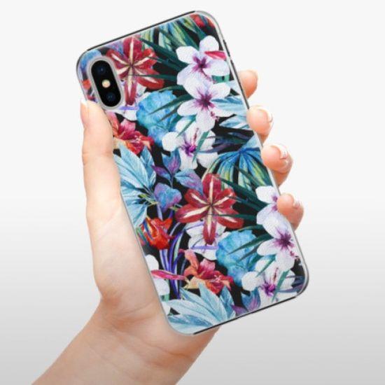 iSaprio Plastikowa obudowa - Tropical Flowers 05 na iPhone X