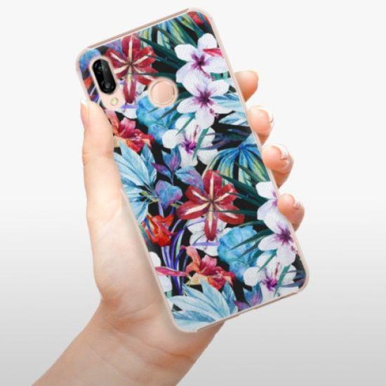 iSaprio Plastikowa obudowa - Tropical Flowers 05 na Huawei P20 Lite