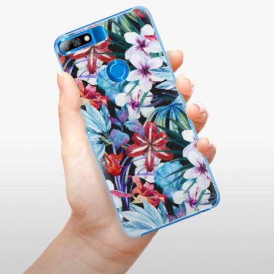 iSaprio Plastikowa obudowa - Tropical Flowers 05 na Huawei Y7 Prime 2018