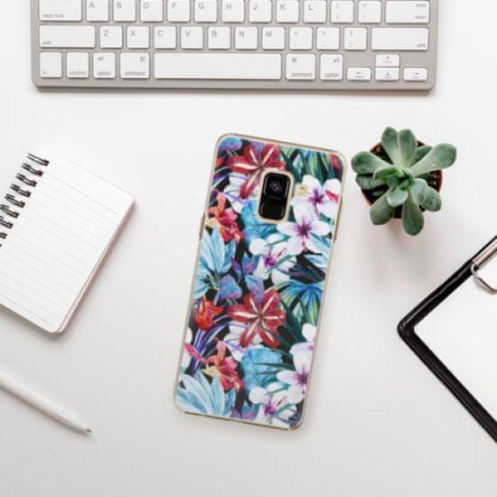 iSaprio Plastikowa obudowa - Tropical Flowers 05 na Samsung Galaxy A8 2018