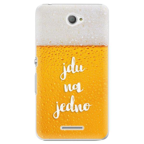 iSaprio Plastový kryt - Jdu na jedno pro Sony Xperia E4