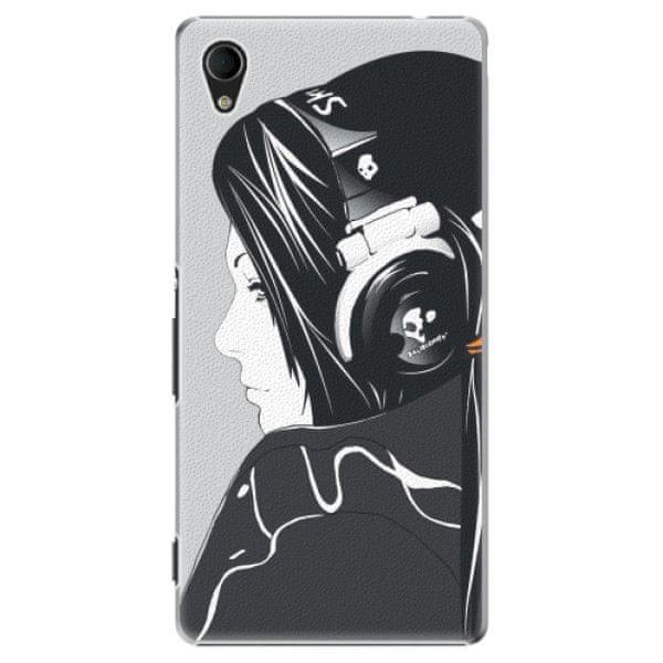 iSaprio Plastový kryt - Headphones pro Sony Xperia M4 Aqua