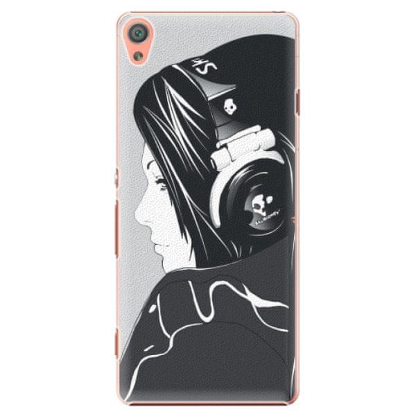 iSaprio Plastový kryt - Headphones pro Sony Xperia XA