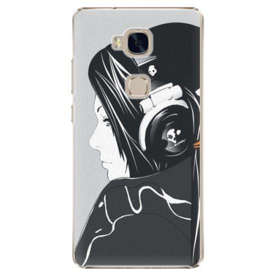 iSaprio Plastikowa obudowa - Headphones na Honor 5X